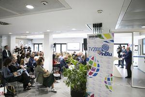 La presentazione dei palinsesti 2019-2020 di Tv2000 e Radio InBlu
