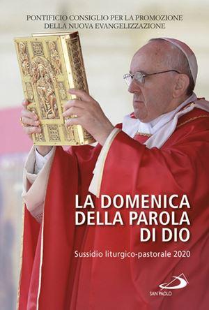 """La copertina del sussidio dal titolo """"La Domenica della Parola di Dio"""" (Edizioni San Paolo)"""
