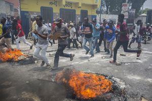 L'ondata di proteste ad Haiti nel 2019.