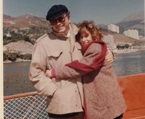 Stefania Craxi con il padre Bettino (foto Fondazione Bettino Craxi)