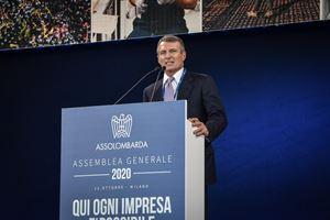 Il presidente di Assolombarda Alessandro Spada.