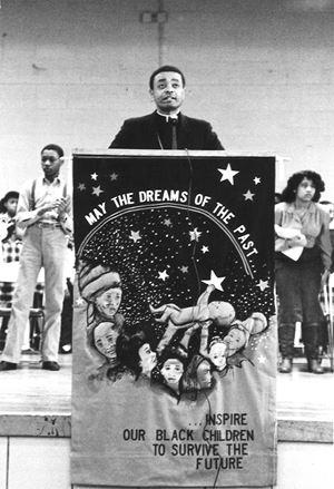 Gregory al tempo in cui era vescovo ausiliare di Chicago, nel 1984 (foto Chicago Catholic)