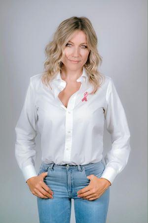 Natasha Stefanenko, madrina della campagna