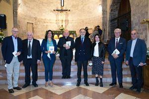 Gli imprenditori :da sinistra, Andrea Acutis papà di Carlo domani Beato, Giorgio Campagnolo, Niccolò Branca, Paola Gurrieri, Giuliano Maffei