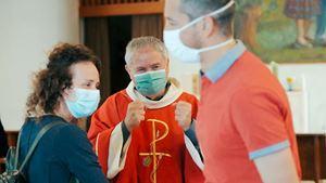 Don Egidio Tittarelli, 61 anni, diocesi di Macerata,