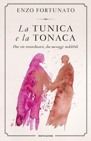 La copertina del libro di padre Enzo Fortunato
