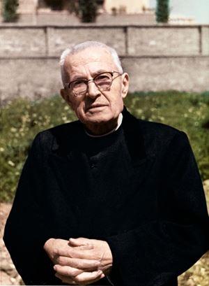 Il beato don Giacomo Alberione (1884-1971).