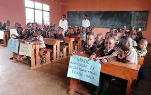 Una scuola in Ruanda realizzata da Amahoro, sostenuta da Dacci oggi il pane quotidiano.