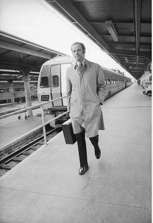 Biden pendolare in treno quando era senatore
