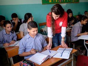 Un progetto educativo di Caritas in Medioriente.