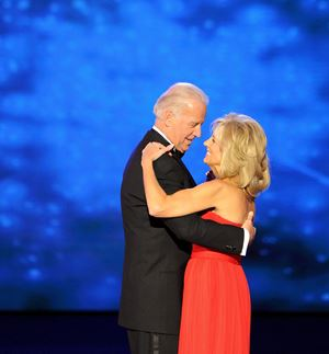 Con la seconda moglie Jill.