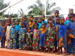 Una scuola creata dalla Ong Gandhi Charity e sostenuta dal progetto.