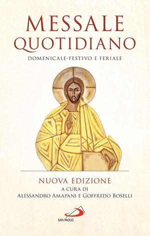 La copertina della nuova edizione del Messale pubblicato dalle Edizioni San Paolo