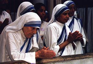Santa Madre Teresa di Calcutta (1910 - 1997). Foto Reuters.