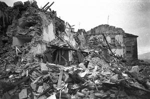 Il terremoto in Irpinia.