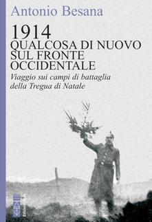 La copertina del libro di Antonio Besana