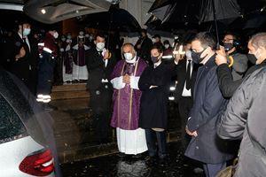 I funerali di Sara Melodia.