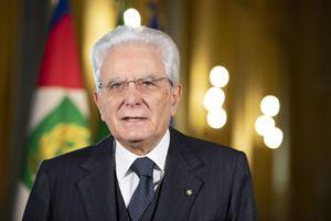 Il presidente della Repubblica Sergio Mattarella (foto Ansa).