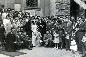 matrimonio di Miesi de Januario e Vittorio Bachelet, 27 giugno 1951