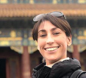 """La preside dell'ITC """"Enrico Tosi"""" di Busto Arsizio Amanda Ferrario."""