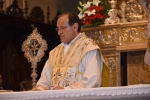 Il parroco del Santissimo Redentore di Seriate (Bergamo), don Mario Carminati