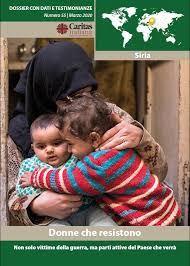 La copertina del dossier Caritas. Fonte: caritas.it. La foto in alto è dell'agenzia Ansa. Quella di copertina è dell'agenzia Reuters.