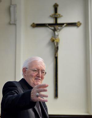 Monsignor Cesare Nosiglia, 75 anni. Tutte le fotografie di questo servizio sono dell'agenzia Ansa.