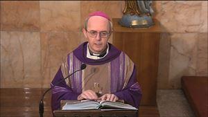 L'arcivescovo di Manfredonia-Vieste-San Giovanni Rotondo, padre Franco Moscone, 62 anni