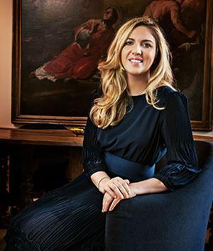 Valentina Pellegrini, classe 1981, vicepresidente della Pellegrini Spa. Foto tratta dal sito ufficiale dell'azienda.