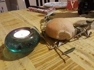 Benedizione domestica del pane il giovedì santo