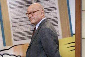 Piero Dorfles, 73 anni, giornalista, critico letterario, noto al pubblico grazie alla sua partecipazione a Per un pugno di libri (Rai 3)