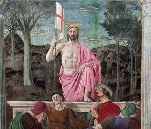 Gli occhi del Cristo, che ha vinto la morte, il manto rosa, che scende tra le pieghe lasciando scoperta la ferita sul costato. I soldati addormentati. E sullo sfondo quelle fortezze, venute fuori tra le colline del paesaggio e l'azzurro del cielo terso. Eccome come si presenta (restaurata) la Risurrezione, capolavoro assoluto di Piero della Francesca a Sansepolcro (Arezzo). Ansa. Sopra: una chiesa a Torino, foto Ansa.