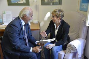 Il Presidente di Attivecomeprima, il dottor Alberto Ricciuti