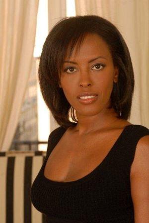 La giornalista italo-somala Shukri Said (foto di Fabrizio De Biase).