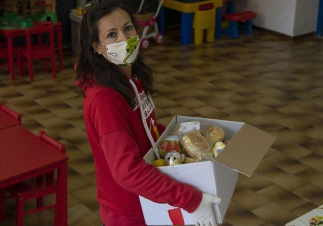 Mary Tanda Coordinatrice UISP per Fiocchi in Ospedale e Punto Luce Save the Children di Sassari. Foto di Marco Sanna di Save the Children