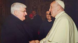 Padre Tasca e Papa Francesco