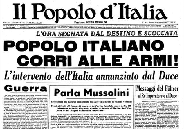 10 Giugno 1940 L Italia Va In Guerra L Inizio Della Fine Di Un Mondo Tratto Da Eugenio Corti Il Cavallo Rosso Famiglia Cristiana