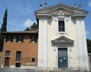 """Chiesa Domine Quo Vadis (S. Maria in Palmis) a Roma. Il """"luogo"""" di Bellezza scelto da Barbara Jetta (foto: di LPLT - Opera propria, CC BY-SA 3.0, <a href=""""https://commons.wikimedia.org/w/index.php?curid=6879727"""">Wikimedia Commons</a>"""