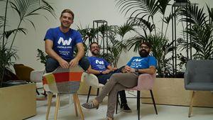 I fondatori della start-up AWorld