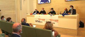 La conferenza stampa di presentazione della Catena Umana Perugia-Assisi 2020.