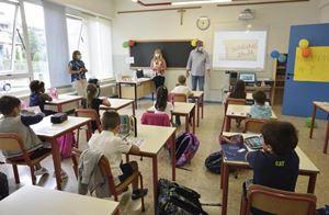 Una scuola primaria di Alzano Lombardo
