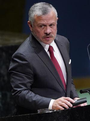 Re Abdullah II di Giordania (foto Reuters).