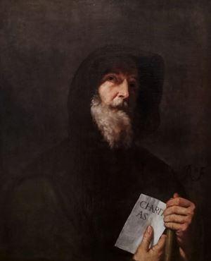 San Francesco di Paola - Jusepe de Ribera (La Valletta, Malta). Foto in alto: il Santuario di San Francesco da Paola, Vittorio Martire. Wikimedia Commons