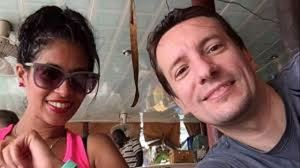 Luca Attanasio e la moglie, Zakia Seddiki.