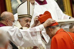 Fra Mauro Gambetti creato cardinale il 28 novembre 2020.