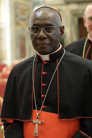 Il cardinale Robert Sarah, 75 anni. Tutte le foto di questo servizio sono dell'agenzia di stampa Ansa.