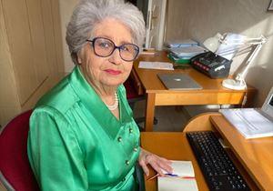 Maria Gabriella Carnieri Moscatelli nella sede del Telefono rosa