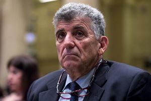 Qui e in copertina, l'ex medico di Lampedusa Pietro Bartolo, oggi europarlamentare.