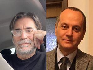 """Spartaco Riva (illustratore) e Mauro Grimaldi (scrittore) sono gli autori di """"Storia di Leo, il bambino che sconfisse la paura del Covid con la fantasia"""""""