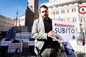 Gigi De Palo, 43 anni, presidente delle Associazioni Familiari